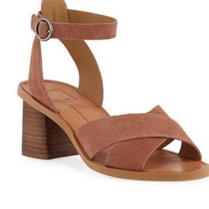 Dolce Vita Ray Suede Ankle Strap Sandals